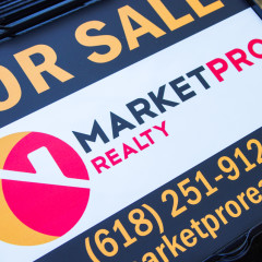 Market Pro Realty 18×24 Yard Signs