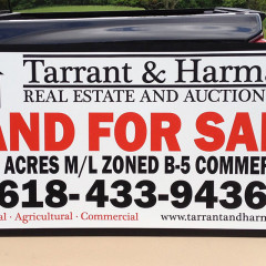 Tarrant & Harman 4×8 Sign